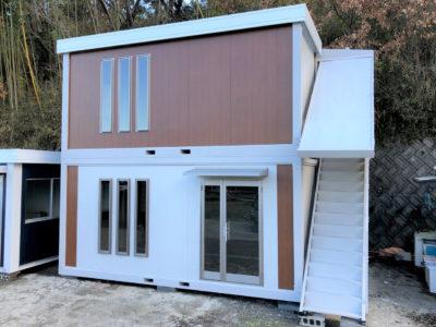 ユニットハウス7.5坪タイプ2階建て ※8.7%OFF ※現品限り 税込3,927,000円