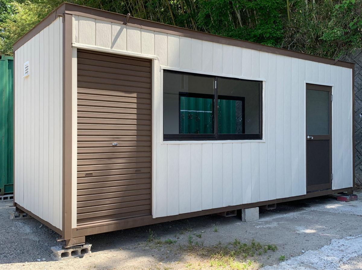 中古ユニットハウス3.7坪タイプ(物置スペース)SOLD OUT