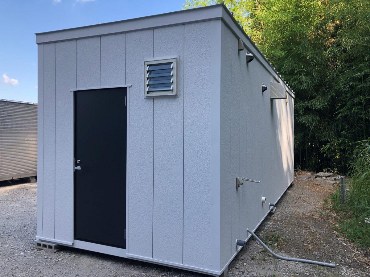 中古ユニットハウス5.5坪タイプ(シャワー・トイレ・キッチン付) ※現品限り 税込1,961,300円