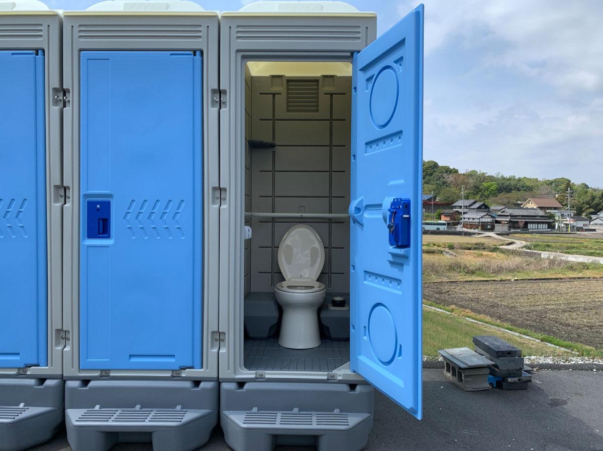 新棟仮設トイレ 洋式簡易水洗 税込184,800円